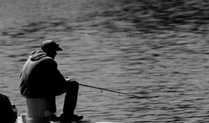 Pêcheur patient
