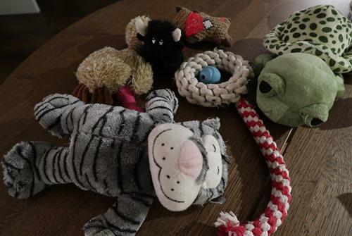 Pile de jouets