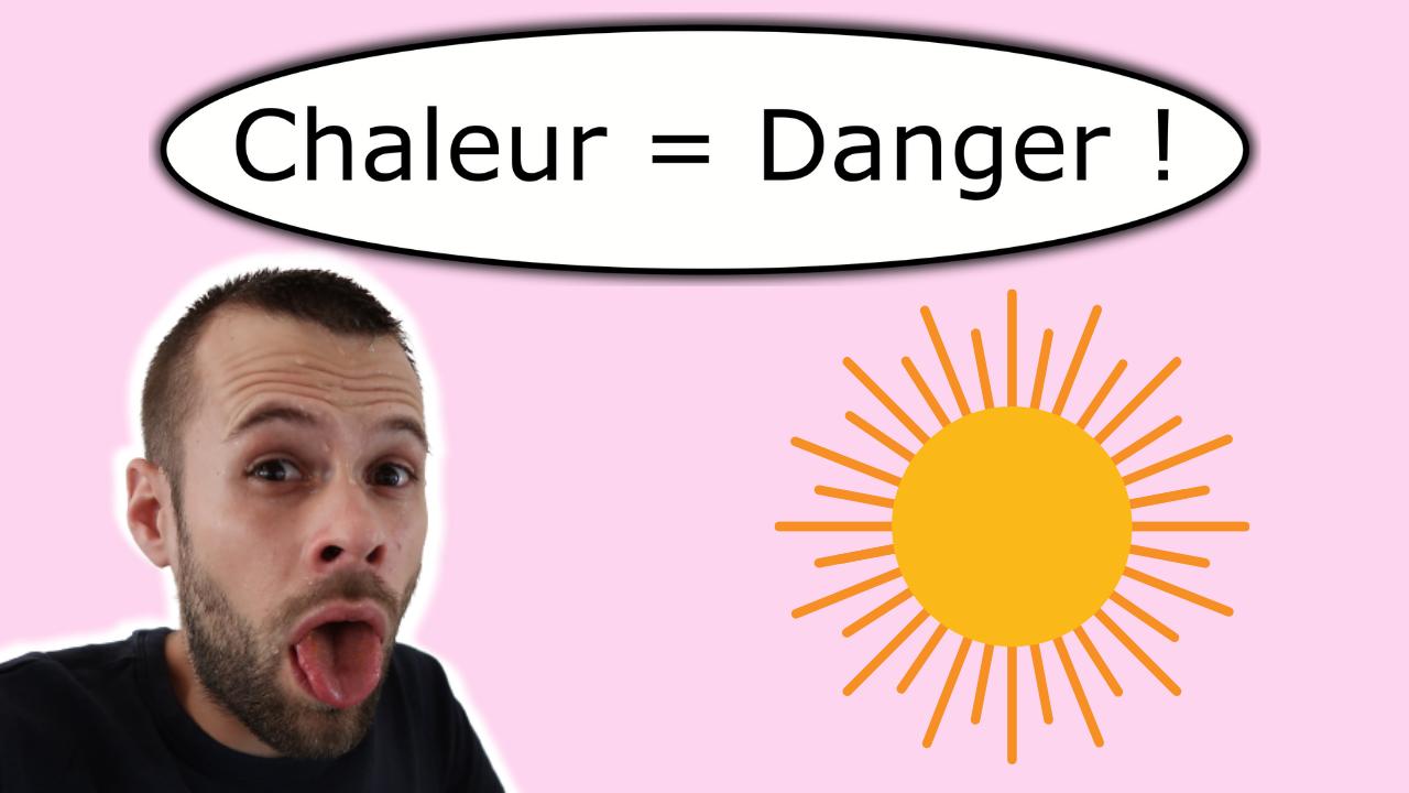 La chaleur et le chien - DANGER !